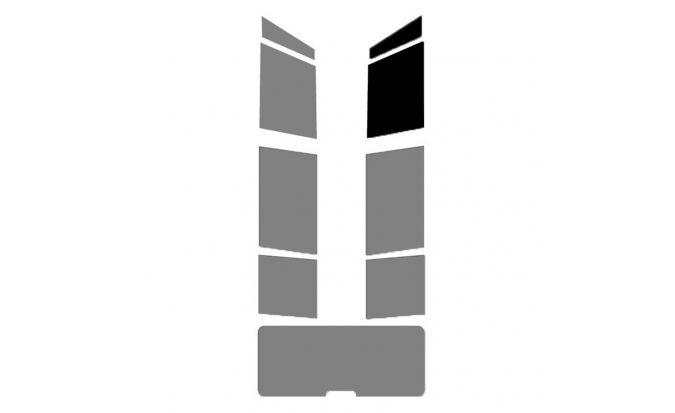 film solaire prédécoupés vitres avant droite pour Break - Monospace - 4X4