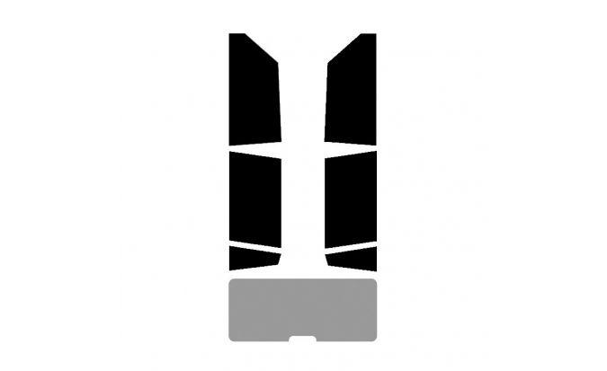 Kit complet sans lunette arrière véhicule 4/5 portes
