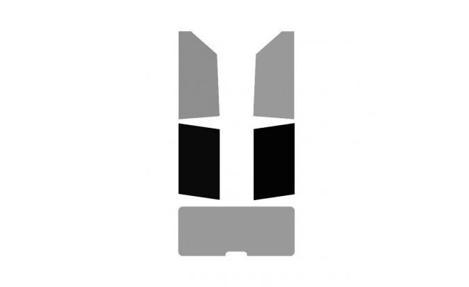 Vitres arrière ( Gauche + Droite ) pour véhicule 2-3 portes