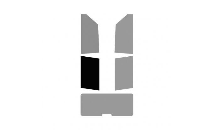1 vitre arrière Gauche pour véhicule 2-3 portes