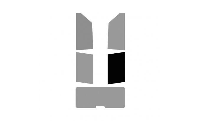 1 vitre arrière Droite pour véhicule 2-3 portes