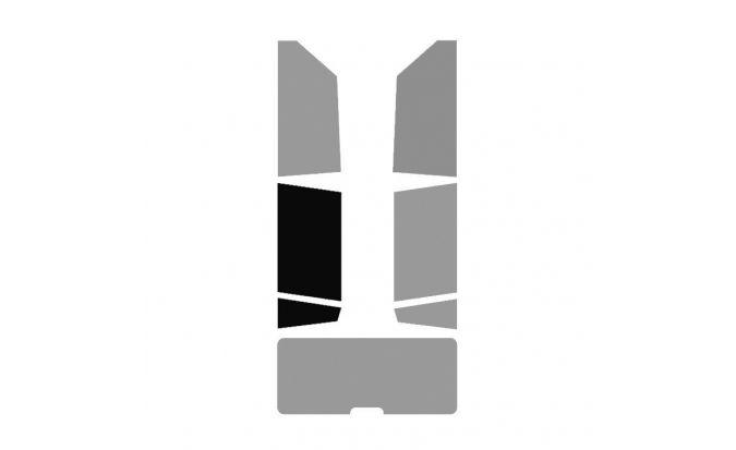 1 vitre arrière Gauche véhicule 4-5 portes
