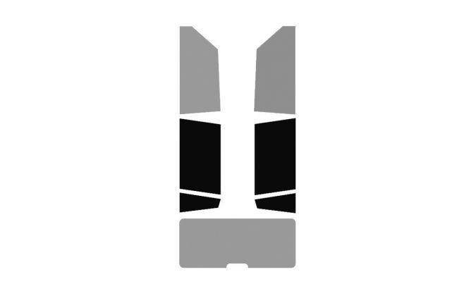 Vitres teintées arrière ( Gauche + Droite ) véhicule 4-5 portes