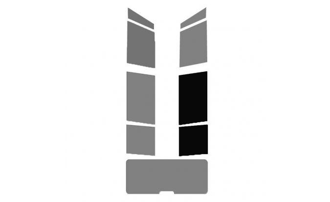1 vitre arrière Droite pour véhicule Break - Monospace - 4X4