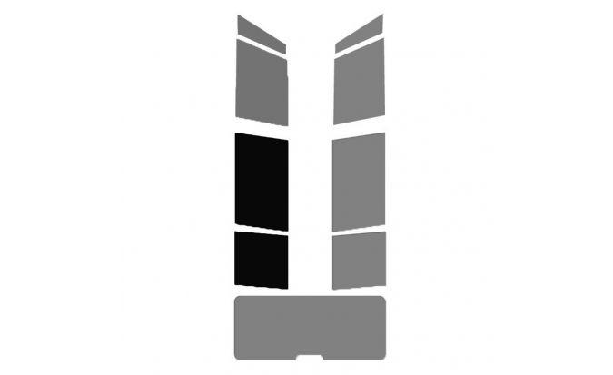 1 vitre arrière Gauche pour véhicule Break - Monospace - 4X4