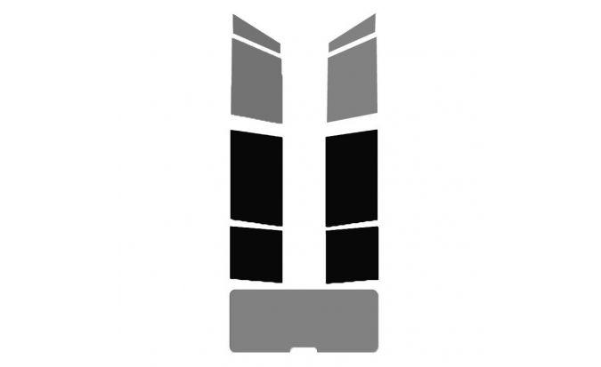 Vitres arrière ( Gauche + Droite ) pour véhicule Break - Monospace - 4X4